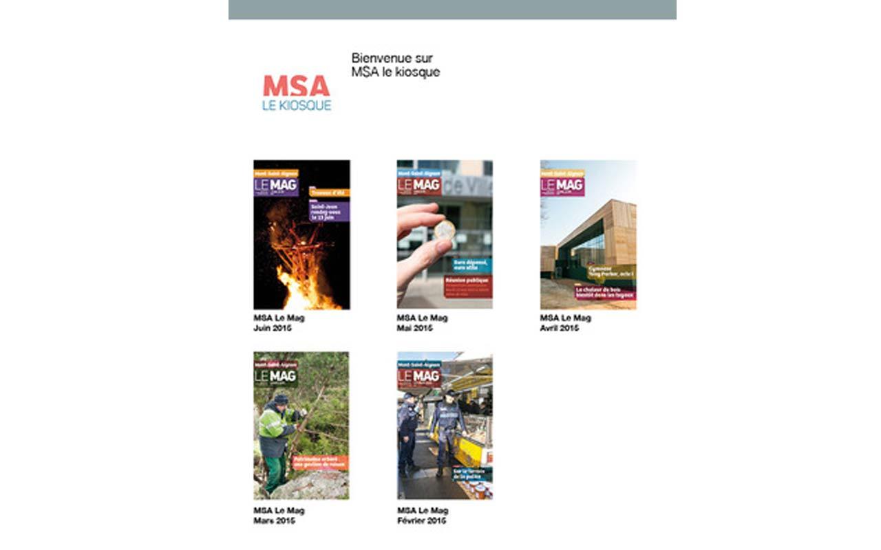 MSA-Kiosque